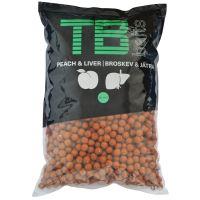 TB Baits Boilie Peach Liver -10 kg 24 mm