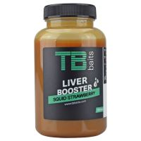 TB Baits Liver Booster Squid Strawberry - 250 ml