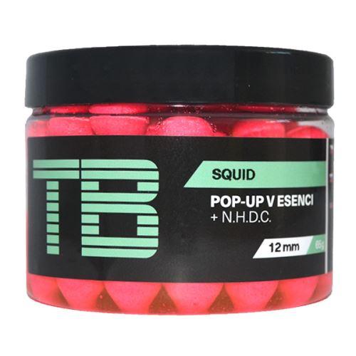 TB Baits Plovoucí Boilie Pop-Up Squid + NHDC 65 g