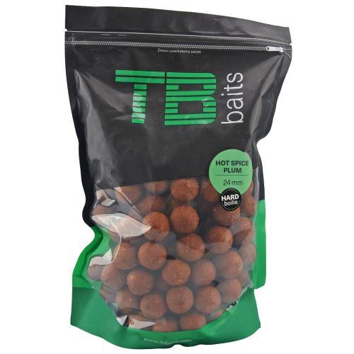 TB Baits Hard Boilie Hot Spice Plum