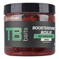 TB Baits Boosterované Boilie Hot Spice Plum 120 g - 24 mm