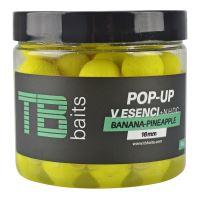 TB Baits Plovoucí Boilie Pop-Up Yellow Banana Pineapple + NHDC 65 g - 12 mm