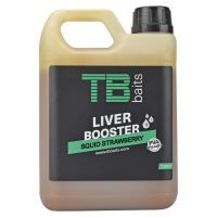 TB Baits Liver Booster Squid Strawberry - 1000 ml