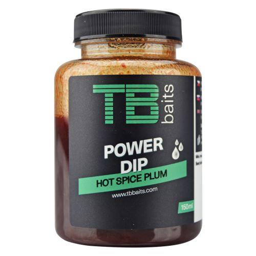TB Baits Power Dip Hot Spice Plum 150 ml