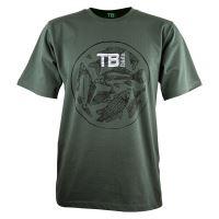TB Baits Tričko Vintage Green - XXL