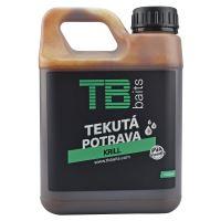 TB Baits Tekutá Potrava Krill - 1000 ml