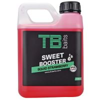 TB Baits Sweet Booster Squid Strawberry - 1000 ml