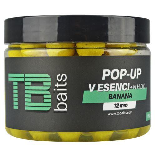 TB Baits Plovoucí Boilie Pop-Up Banana + NHDC 65 g
