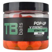 TB Baits Plovoucí  Boilie Pop-Up Stinky fruit + NHDC 65 g-16 mm