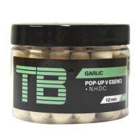 TB Baits Plovoucí Boilie Pop-Up White Garlic + NHDC 65 g - 16 mm