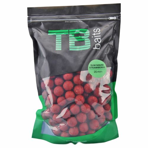 TB Baits Boilie GLM Squid Strawberry