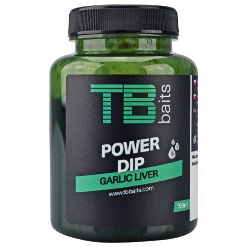 TB Baits Power Dip Garlic Liver 150 ml